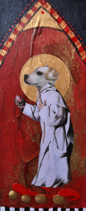 Rat Terrier Icon Painting