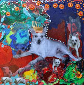 Rat Terrier Painting